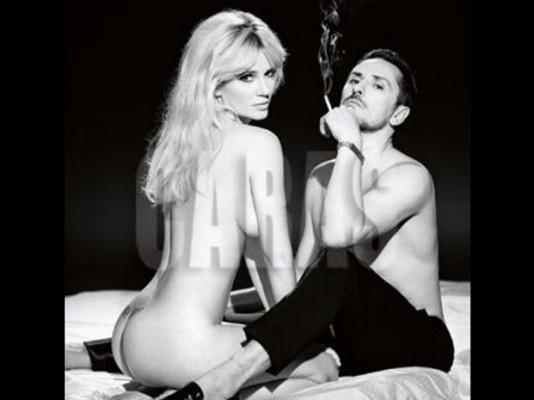 La Polémica Producción De Griselda Siciliani Desnuda Y Súper Hotde