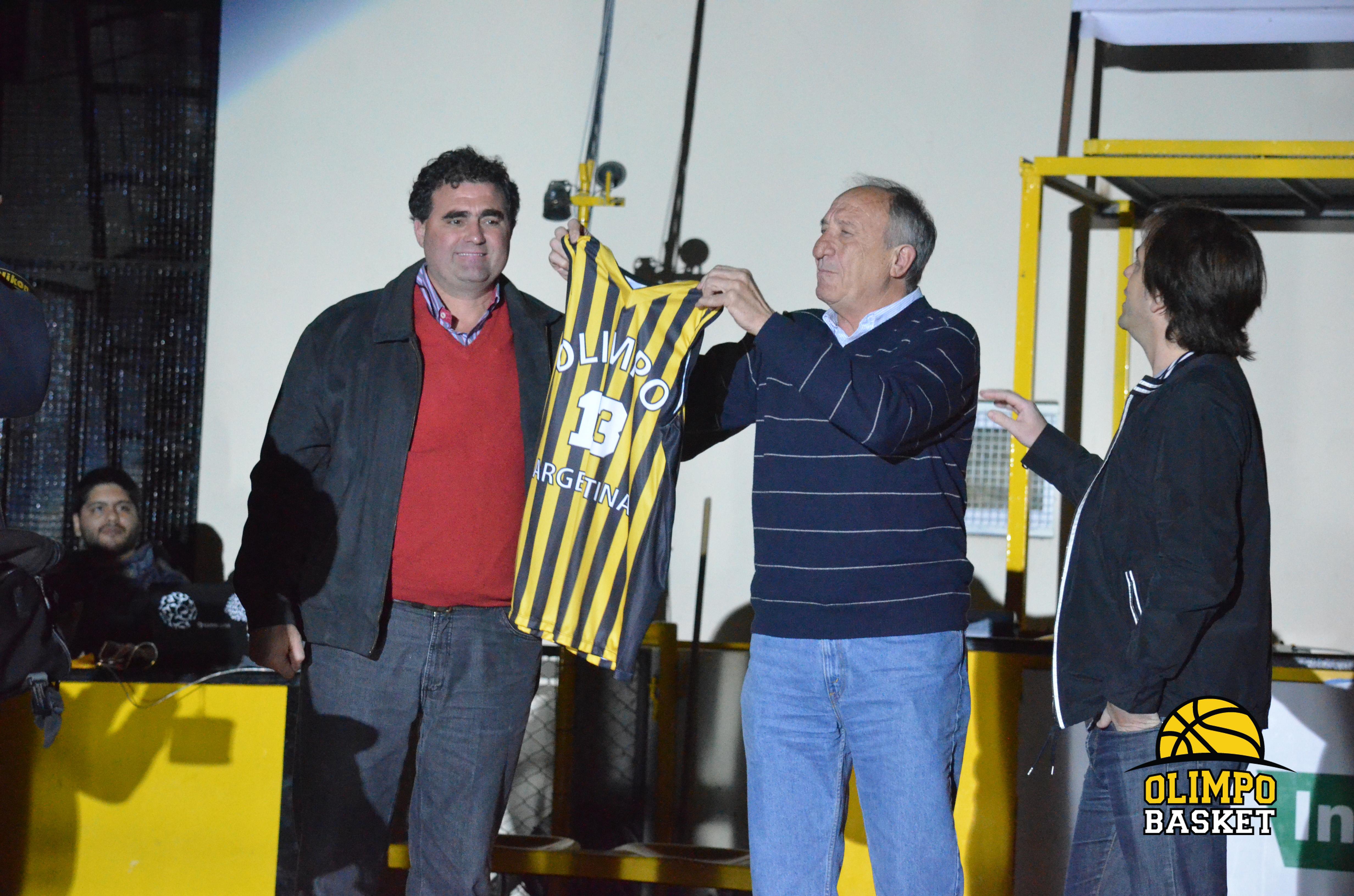Olimpo Basket - Alfredo Dagna, Adrián Monachesi, Rodrigo Gómez