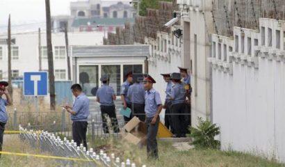 atentado suicida en la embajada china en Biskek