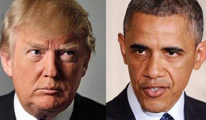 tumps vs obama