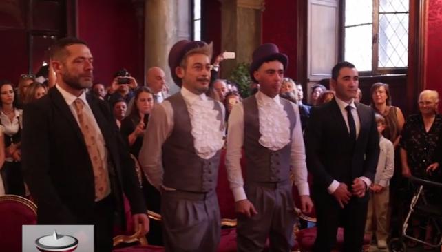 casamiento gay en roma