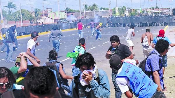 manifestación ocurrida el domingo en San Pablo