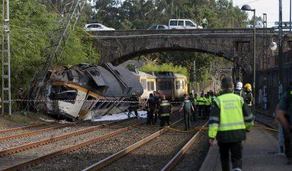 tren descarrilado España