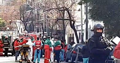 Se incendió un geriátrico en Almagro y trasladaron a tres personas a hospitales