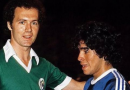 """""""Maradona fue un genio que perdió el control de su vida"""", subrayó el alemán Beckenbauer"""