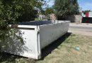 Dónde están las bateas para descartar residuos voluminosos y restos de poda