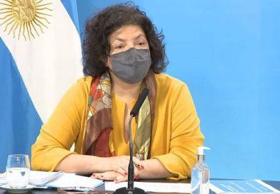 """Carla Vizzotti pidió """"valorar el logro de la Argentina de demorar el ingreso de la variante Delta"""""""