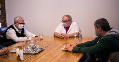 Trasplantes: se reunieron directores del Hospital Municipal y autoridades del Cucaiba