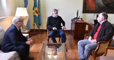 El intendente recibió al decano electo de la UTN Facultad Bahía Blanca