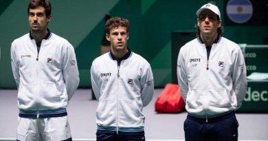 Así quedaron los cruces entre Argentina y Bielorrusia por la Copa Davis