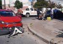 Un joven sufrió heridas en un incidente de tránsito
